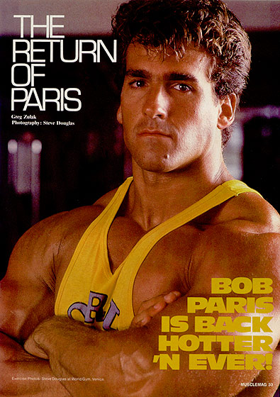 The Return of Bob Paris